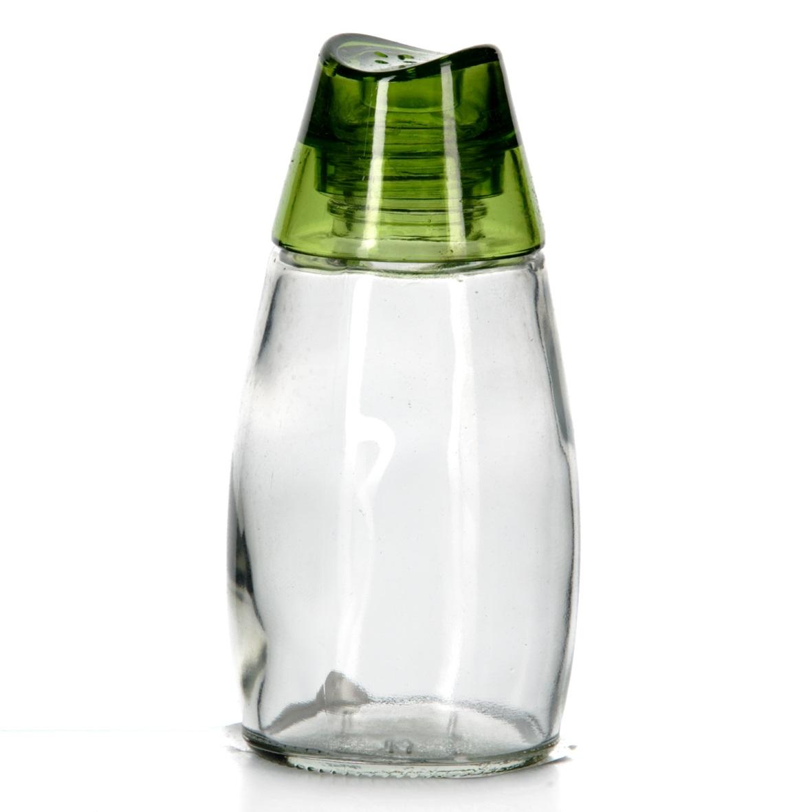 Солонка Herevin, цвет: зеленый, 105 мл. 121135-400121135-400Солонка Herevin выполнена из прозрачного стекла и оснащена пластиковой цветной крышкой с отверстиями, благодаря которым, вы сможете посолить блюда, просто перевернув банку. Крышка легко откручивается, благодаря чему засыпать соль внутрь очень просто. Такая солонка станет достойным дополнением к вашему кухонному инвентарю. Можно мыть в посудомоечной машине. Объем: 105 мл. Диаметр (по верхнему краю): 2 см. Высота солонки (без учета крышки): 9,5 см.