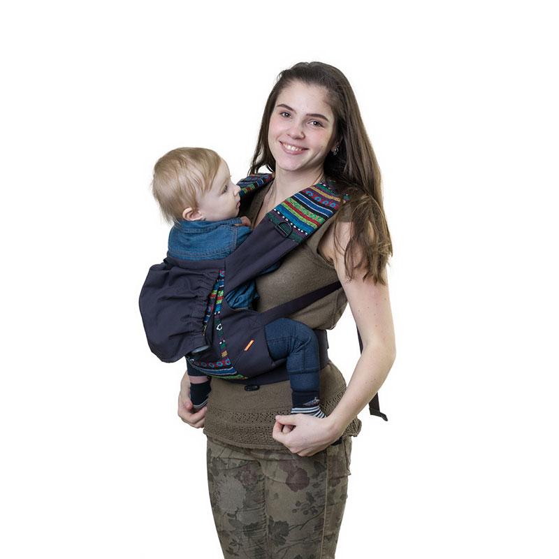 Слинг-рюкзак Чудо-Чадо Уичоли, цвет: темно-синийСРЧ01-003Уичоли - это племя индейцев, которые носят множество вышитых сумочек, любят слинги, сумки, ткачество и вышивку. За это антропологи назвали их племенем художников. Классический слинг-рюкзак Уичоли выполнен в этно-стиле из натуральной, дышащей, гипоаллергенной, износостойкой и простой в уходе ткани - 100% хлопка с отделкой из 100% полиэстера. Твил внутри и мягкие края рюкзака не натирают нежную кожу ребенка и не врезаются в ножки. Чтобы спинке малыша было комфортно, верхний край сделан из мягкого валика. Все крепления лямок и края сиденья рюкзака дополнительно усилены. В лямках рюкзака в качестве наполнителя использована специальная пенка. Она хорошо держит форму, устойчива к самой интенсивной эксплуатации, не подвержена разрушению под воздействием воды, моющих средств и ультрафиолетовых лучей. Широкий пояс помогает правильно распределить вес и разгружает спину. Рюкзак снабжен двойным вместительным карманом для мелочей и регулируемым капюшоном-подголовником. ...