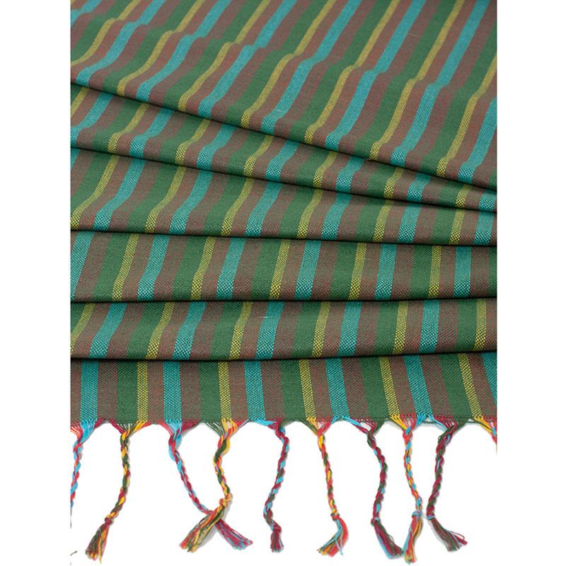 Слинг-шарф Чудо-Чадо Fareeda, цвет: лесной, 532 х 62 смСШФ07-000Слинг-шарф Чудо-Чадо Fareeda - замечательный помощник для молодой мамы: освобождает руки, создает близкий контакт с малышом, позволяет покормить незаметно для окружающих, прекрасно успокаивает малыша. Множество вариантов намоток, великолепная поддержка неокрепшей спинки ребенка, забота о маминой спине. Слинг-шарф ручной работы выполнен из 100% хлопка специальным саржевым (диагональным) плетением, которое наилучшим образом способно распределять вес ребенка в слинге и нагрузку на мамину спину. Отсутствие подгибки по краям шарфа делает его особенно комфортным - швы не врезаются в маленькие ножки малыша. На полях, где растёт этот хлопок, не используется никаких химикатов (пестицидов, инсектицидов, химических удобрений). Для удаления сорняков проводится ручная прополка. Исключено применение генетически модифицированных хлопковых семян. Окрашивают ткань красителями, созданными на основе натуральных компонентов. Именно поэтому в коллекции нет чересчур ярких расцветок. Всё это означает...