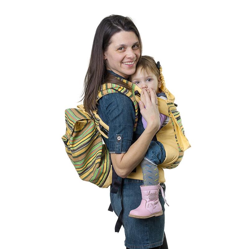 Сумка-рюкзак для мамы Чудо-Чадо Уичоли, цвет: светло-желтыйСРМ01-004Уичоли - это племя индейцев, которые носят множество вышитых сумочек, любят слинги, сумки, ткачество и вышивку. За это антропологи назвали их племенем художников. Сумка-рюкзак Уичоли выполнена в этно-стиле из натуральной, дышащей, гипоаллергенной, износостойкой и простой в уходе ткани. Она содержит одно отделение, затягивается сверху на кулиску и дополнительно закрывается клапаном на пуговице. Сумка- рюкзак оснащена регулируемыми по длине лямками для переноски на спине и текстильной ручкой для переноски в руке. При необходимости лямки могут соединяться с помощью застежки-молнии, образуя тем самым широкую лямку. Уважаемые клиенты! Обращаем ваше внимание на то, что слинг-рюкзак в комплект не входит.