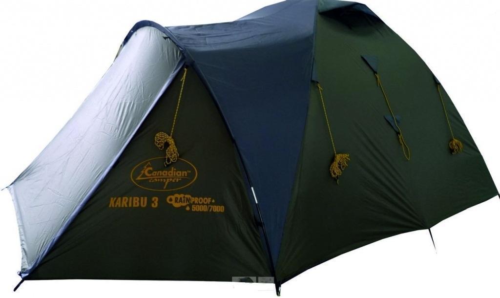 Палатка CANADIAN CAMPER KARIBU 4 (цвет forest)