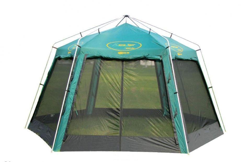 Тент CANADIAN CAMPER ZODIAC plus тент-шатер (стальные стойки)(цвет woodland)