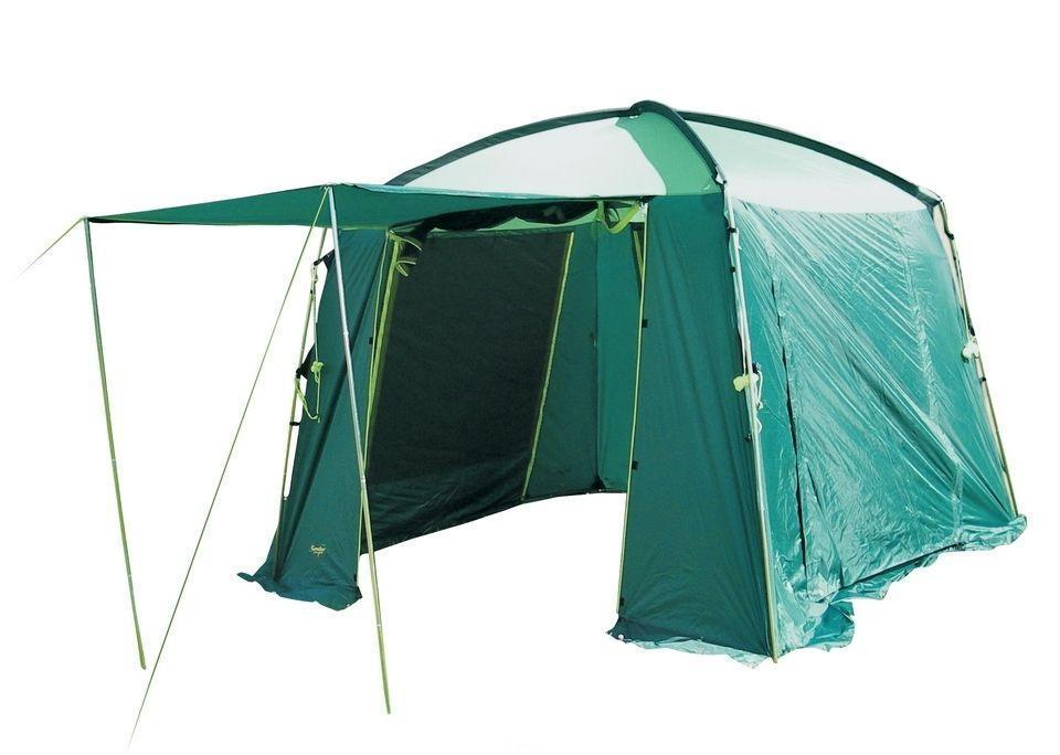 Тент CANADIAN CAMPER CAMP (цвет woodland) (высота 225см) (стойки сталь)31800011Тент-шатер Canadian Camper Camp – просторная модель для дружеских поездок на природу. Без такого приспособления не обойтись в случае, если погода меняется, собирается дождь или поднялся ветер, защитит тент и от яркого солнца. В широком и высоком тенте можно устроить кухню или столовую, сложить вещи и самим укрыться в случае необходимости. Тент-шатер вмещает большое количество человек, он очень прочный и устойчивый, выдерживает серьезные порывы ветра.