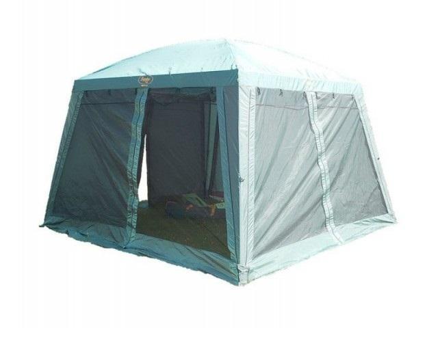 Тент CANADIAN CAMPER SAFARY (цвет WOODLAND) (высота 250см) со стойками31800018Тент-шатер Canadian Camper Safary подойдет тем, кто хочет сделать отдых на природе максимально комфортным и ценит не только функциональность, но и стиль. Просторный тент позволит организовать походную кухню или столовую на свежем воздухе, а его яркая привлекательная расцветка понравится современным путешественникам.
