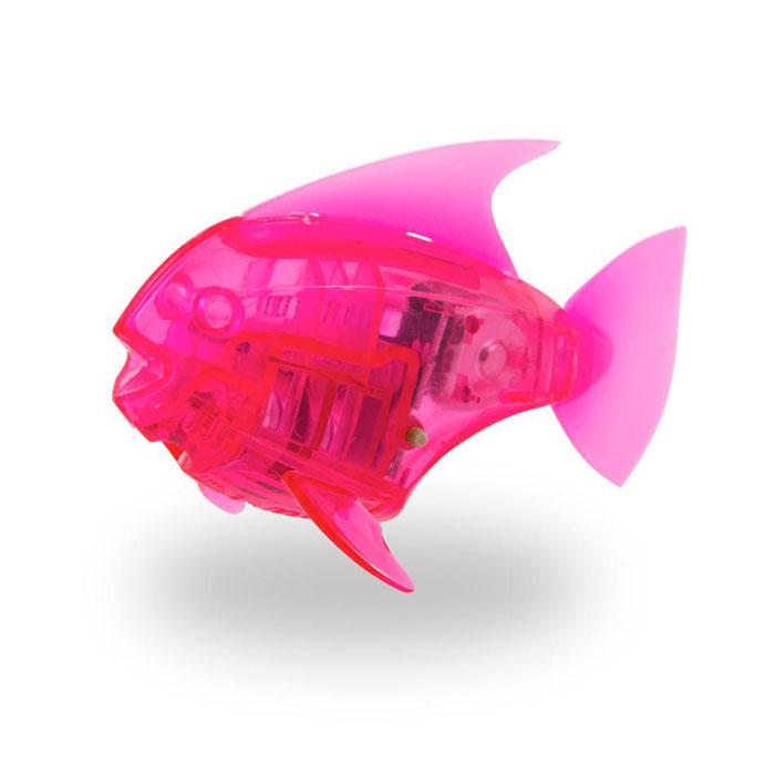 Микро-робот рыбка Hexbug Aquabot Angelfish, со световыми эффектами, цвет: розовый460-2976_6Уникальный микро-робот рыбка Hexbug Aquabot Angelfish изготовлен из безопасного пластика и выполнен в виде забавной рыбки. Теперь микро-роботы осваивают и водные глубины! Микро-робот рыбка Hexbug Aquabot плавает как настоящая рыба и непредсказуем в направлении движения. Опустите его в воду и он оживет! Если микро-робот замер, то достаточно просто всколыхнуть воду и он снова поплывёт. Вне воды микро-робот автоматически выключается. Но и это еще не все, теперь микро-роботы рыбки оснащены световыми эффектами! Для работы игрушки необходимы 2 батареи типа LR44 (в комплекте 2 демонстрационные и 2 запасные батареи).