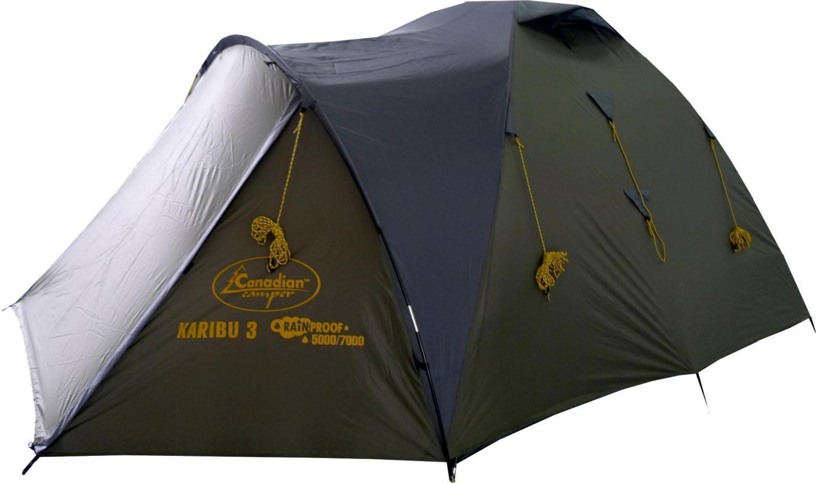 Палатка CANADIAN CAMPER KARIBU 3 (цвет forest)