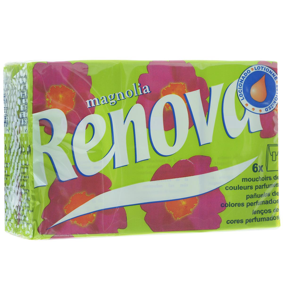 Платочки бумажные Renova