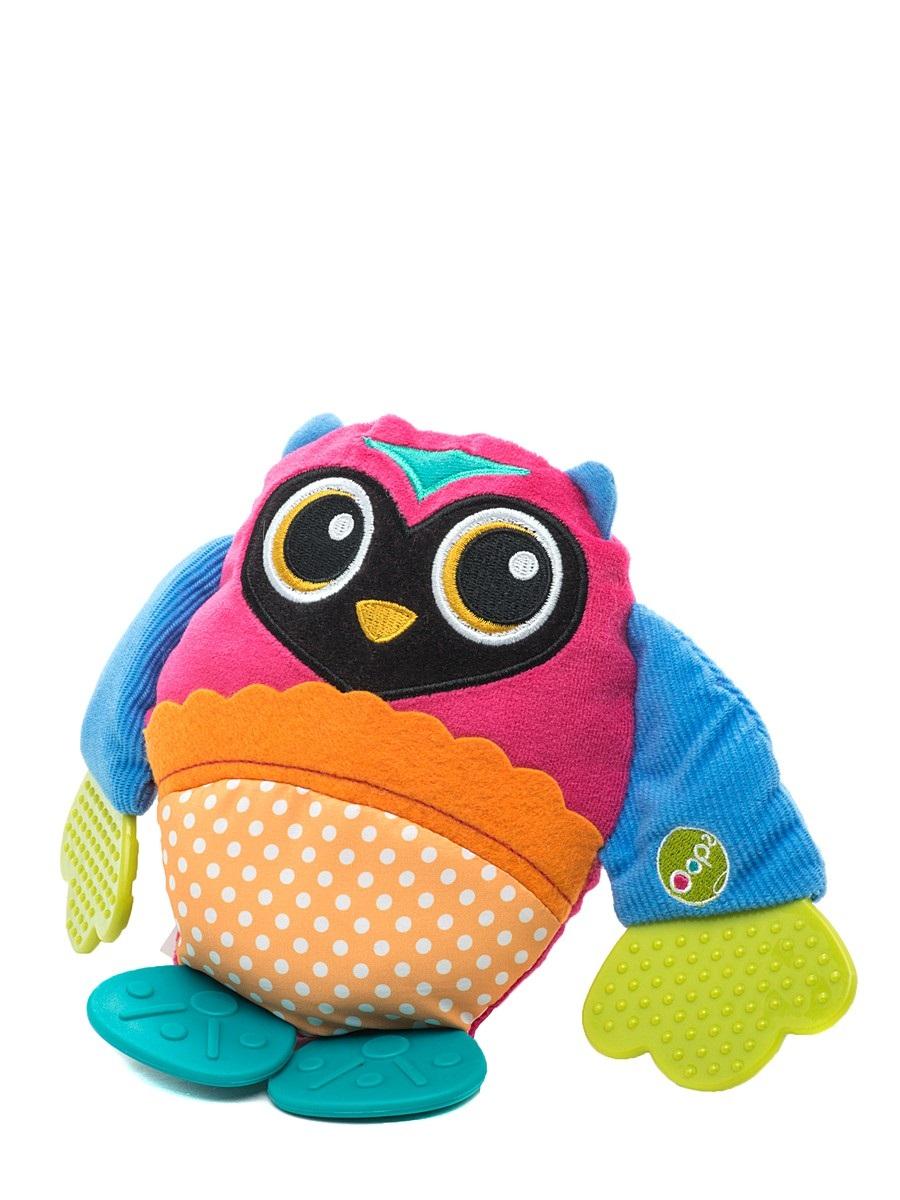 Развивающая игрушка OOPS СоваO 13002.12Развивающая игрушка OOPS Сова изготовлена из высококачественного текстиля и пластика безопасного для детей. Игрушка выполнена в виде забавной яркой совы с крыльями-прорезывателями. Прорезыватели помогут вашему малышу массажировать небо и десна, а игрушка отвлечет внимание ребенка. Нежная на ощупь поверхность и новые приятные цвета развивают органы чувств вашего малыша. Игрушка снабжена шуршащим животиком, что непременно понравится ребенку. Развивающая игрушка OOPS Сова способствует развитию мелкой моторики и зрительно-цветовому восприятию.