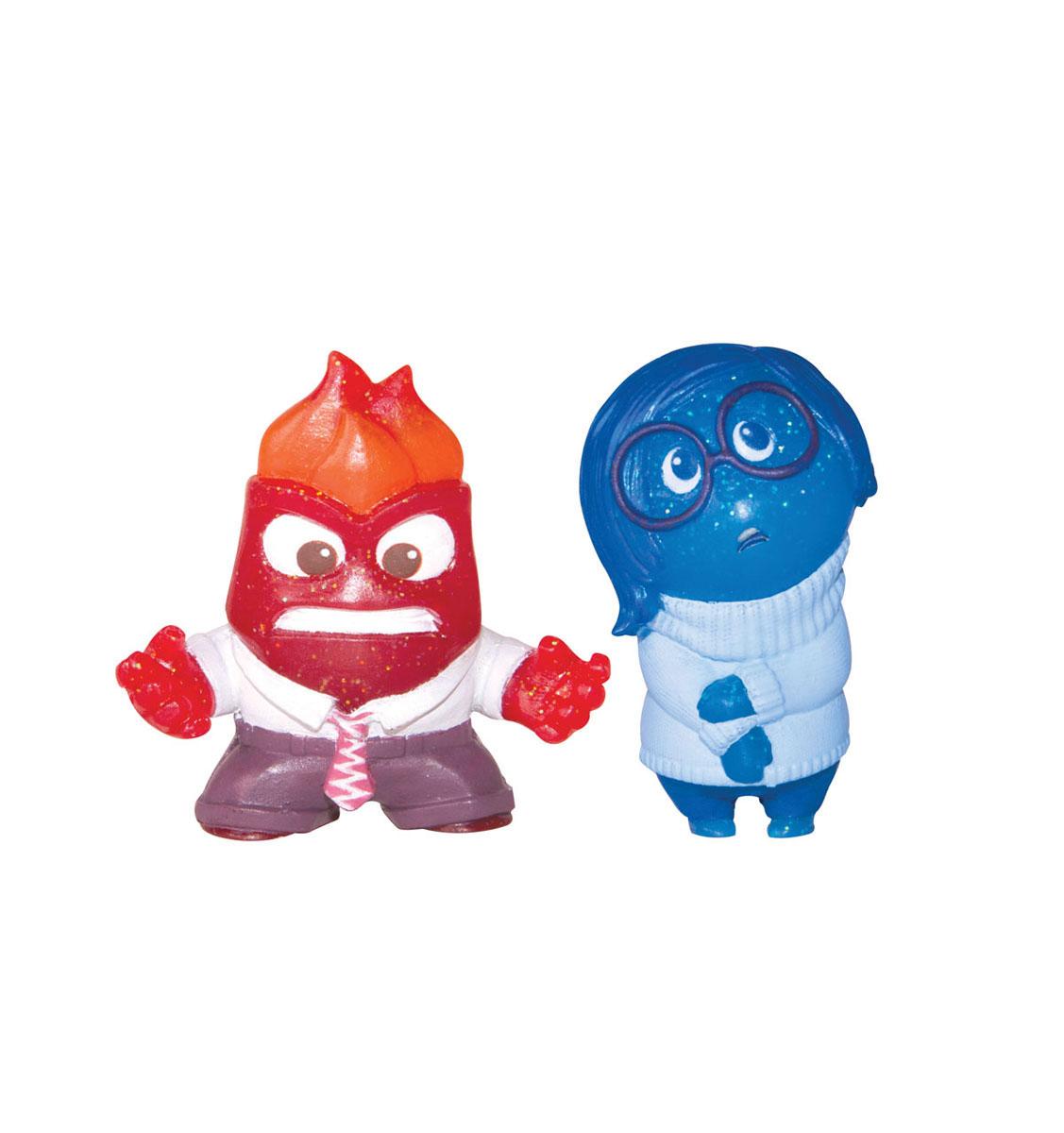 Набор фигурок Головоломка Печаль и Гнев61914_61418_Печаль+ГневНабор фигурок Головоломка Печаль и Гнев понравится вашему ребенку. В него входят две пластиковые фигурки в виде Печали и Гнева - персонажей мультфильма Головоломка. Благодаря маленьким размерам фигурок ребенок сможет брать их с собой на прогулку или в гости. Фигурки придутся по душе любому поклоннику популярного мультфильма Головоломка!