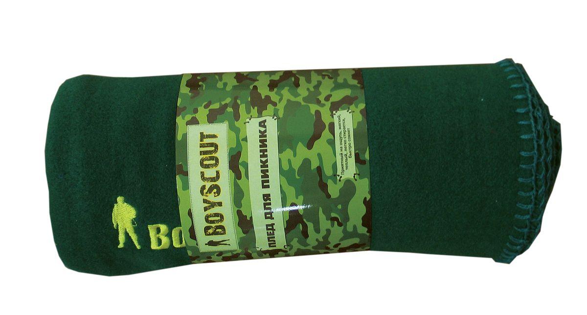 Плед для пикника Boyscout, цвет: зеленый, 150 см х 130 см61060Плед Boyscout идеален для создания уюта на пикнике или в машине. Изготовлен из флиса. Приятный на ощупь, мягкий, теплый, легко стирается, быстро сохнет. Края обработаны.