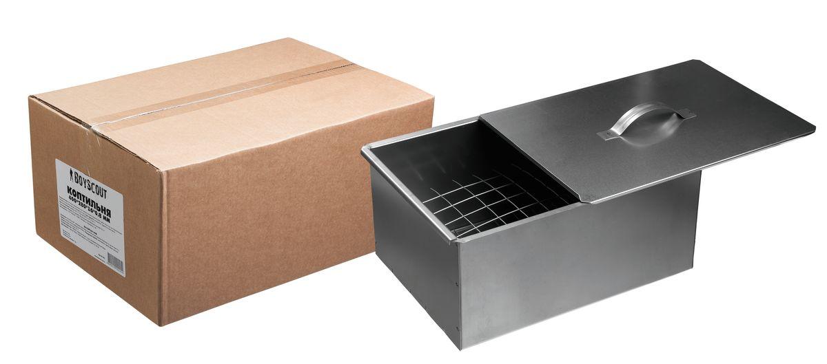 BOYSCOUT Коптильня 400х280х160 мм, двухъярусная, в коробке61242BOYSCOUT Коптильня 400х280х160 мм, двухъярусная, в коробке /1