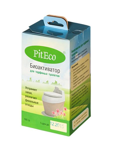 Биоактиватор для торфяных туалетов PitEco, 160 гP160Биоактиватор PitEco применяется в торфяных туалетах для ускорения процесса компостирования фекальных отходов. Применяется только в комплексе с торфяной композицией. Ускоряет процесс компостирования. Поддается биологическому разложению более чем на 98%. Является биологически чистым продуктом, не оказывает побочных действий на людей и животных. Состав: смесь специально выращенных микроорганизмов и энзимов, органический наполнитель. Вес: 160 г. Количество пакетиков в упаковке: 16 шт.