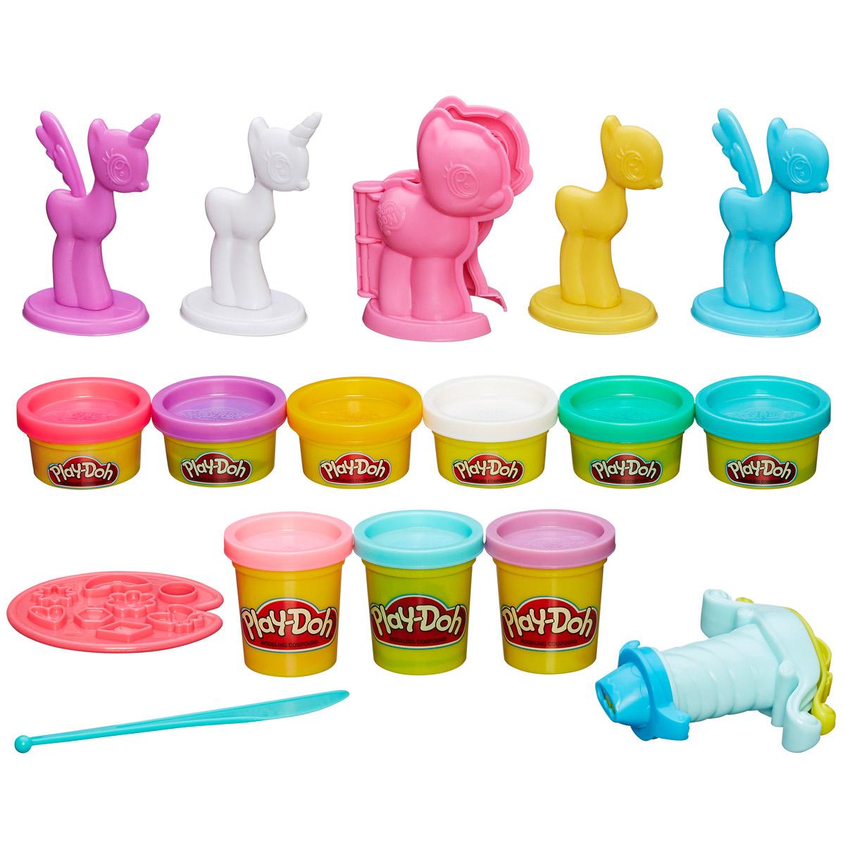 Play-Doh Игровой набор Make N Style Ponies