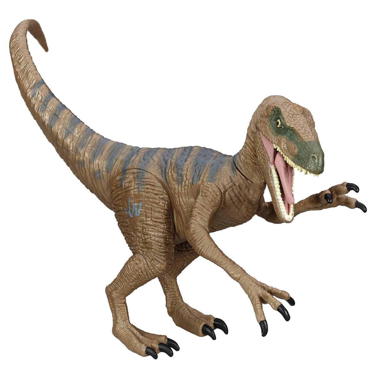 Фигурка Jurassic World Титаны: Velociraptor DeltaB1139 B1141_ VELOCIRAPTOR  DELTAФигурка динозавра Jurassic World Титаны: Velociraptor Delta непременно понравится вашему ребенку! Любителям реалистичных имитаций обитателей животного мира в доисторический период данное изделие подойдет как нельзя лучше. Велоцираптор Дельта - очень качественная фигурка, которая обладает отличной детализацией и сохранением пропорций тела динозавра. Игрушка изготовлена из безопасных и надежных материалов, на высоком уровне имитирующих особенности кожи древних ящеров. Верхние конечности фигурки двигаются. Ваш ребенок часами будет играть с фигуркой, придумывая различные истории. Порадуйте его таким замечательным подарком!