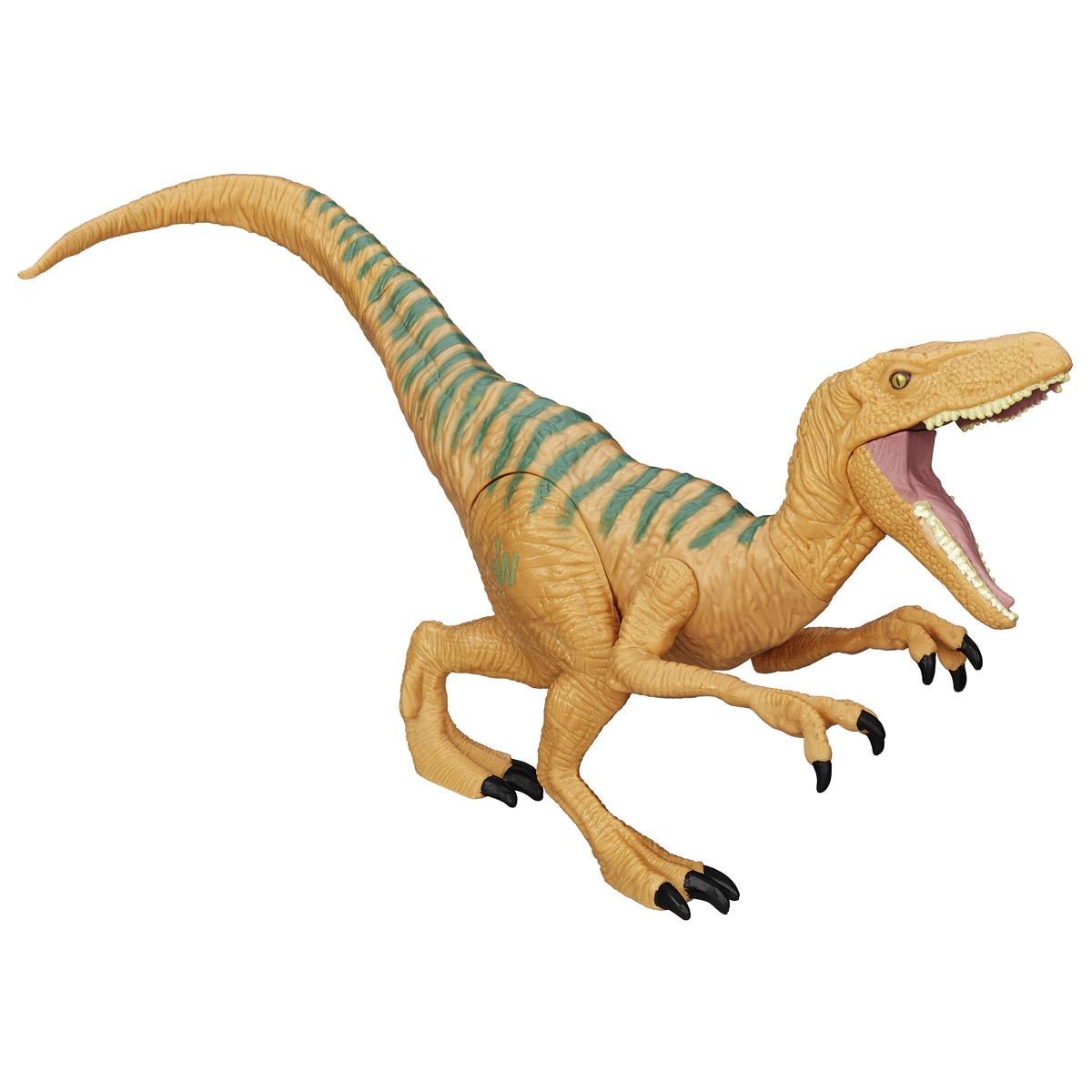 Фигурка Jurassic World Титаны: Velociraptor EchoB1139 B1142_ VELOCIRAPTOR  ECHOФигурка динозавра Jurassic World Титаны: Velociraptor Echo непременно понравится вашему ребенку! Любителям реалистичных имитаций обитателей животного мира в доисторический период данное изделие подойдет как нельзя лучше. Велоцираптор Эхо - очень качественная фигурка, которая обладает отличной детализацией и сохранением пропорций тела динозавра. Игрушка изготовлена из безопасных и надежных материалов, на высоком уровне имитирующих особенности кожи древних ящеров. Верхние конечности фигурки двигаются. Ваш ребенок часами будет играть с фигуркой, придумывая различные истории. Порадуйте его таким замечательным подарком!