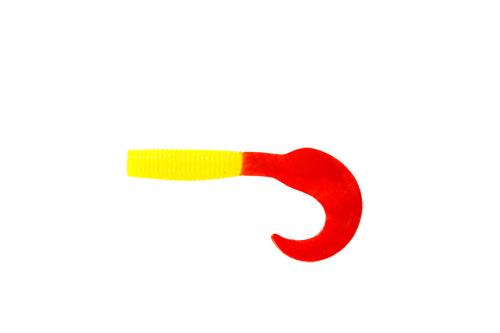 Приманка съедобная Твистер Allvega Flutter Tail Grub, цвет: желтый, красный, 8 см, 3,6 г, 7 шт51277Allvega Flutter Tail Grub - это твистер классической формы с трепетной, невесомой игрой хвоста. Соблазнительный пищевой объект для окуня и некрупной щуки. Сочетается со всеми видами спиннинговых оснасток, но особенно хорош на отводном поводке. Дополнительную привлекательность приманке придает использование в составе активной биодобавки и специального ароматизатора. Вес: 3,6 г. Длина: 8 см.