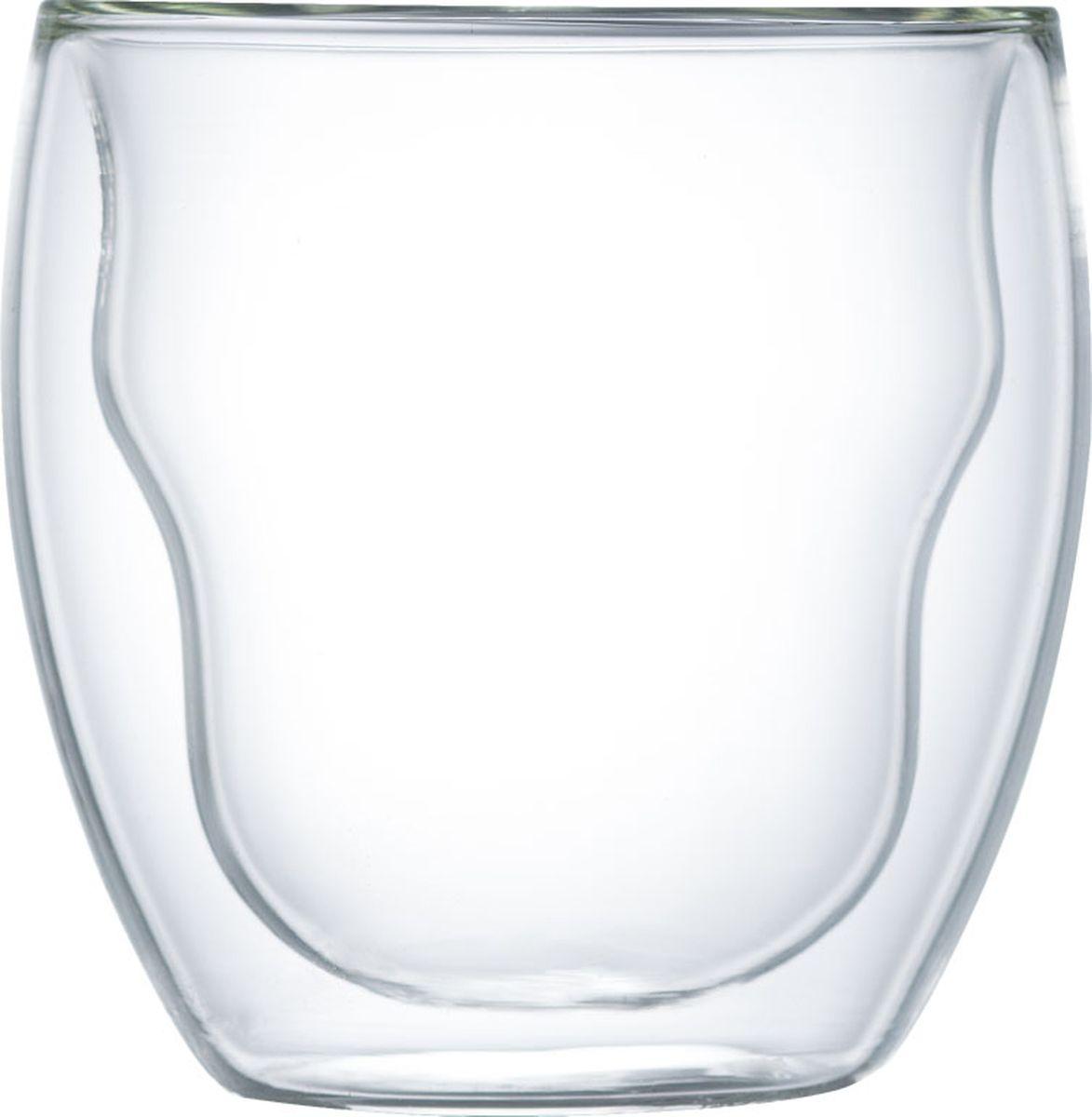 Набор термобокалов Walmer Prince, 250 мл, 2 штW02001025Набор Walmer Prince состоит из двух термобокалов, изготовленных из высококачественного жаропрочного стекла и оснащенных двойными стенками. Прослойка воздуха оставляет напитки долгое время горячими. Внешняя поверхность бокалов сохраняет при этом комнатную температуру. Можно мыть в посудомоечной машине и использовать в микроволновой печи. Диаметр (по верхнему краю): 8 см. Высота: 9 см.