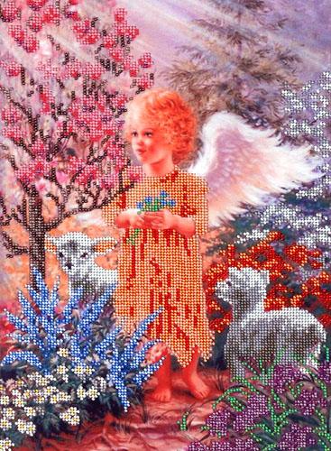 Набор для вышивания бисером Hobby & Pro В райском саду, 35 х 25 см581109Набор для вышивания бисером Hobby & Pro В райском саду поможет вам создать свой личный шедевр - красивую картину, частично вышитую бисером по цветному фону. Работа, выполненная своими руками, станет отличным подарком для друзей и близких! Набор содержит: - ткань с нанесенным цветным рисунком (размер ткани 35 см х 50 см), - бисер Preciosa Ornela (Чехия) - 16 цветов, - игла для бисера, - инструкция на русском языке.