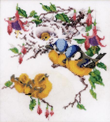 Набор для вышивания бисером Hobby & Pro Утренние трели, 27 х 25 см581437Набор для вышивания бисером Hobby & Pro Утренние трели поможет вам создать свой личный шедевр - красивую картину, частично вышитую бисером по цветному фону. Работа, выполненная своими руками, станет отличным подарком для друзей и близких! Набор содержит: - ткань с нанесенным цветным рисунком (размер ткани 42 см х 39 см), - бисер Preciosa Ornela (Чехия) - 20 цветов, - игла для бисера, - инструкция на русском языке.