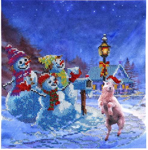Канва с рисунком для вышивания бисером Hobby & Pro Снеговики, 25 см х 25 см580558Канва с рисунком для вышивания бисером Снеговики, изготовлена из полиэстра. Рисунок-вышивка, выполненный на такой канве, выглядит очень оригинально. Бисеринки нашиваются на ткань косыми стежками шва полукрест, где каждая бисеринка соответствует одной клетке на схеме. Вышивание отвлечет вас от повседневных забот и превратится в увлекательное занятие! Работа, сделанная своими руками, создаст особый уют и атмосферу в доме и долгие годы будет радовать вас и ваших близких, а подарок, выполненный собственноручно, станет самым ценным для друзей и знакомых. Рекомендуемое количество цветов: 17. Не рекомендуется стирать или мочить рисунок на канве перед вышиванием. УВАЖАЕМЫЕ КЛИЕНТЫ! Обращаем ваше внимание, на тот факт, что цвет символа на ткани может отличаться от реального цвета бисера они подобраны для удобства пользования схемой. Придерживайтесь нумерации в таблице.