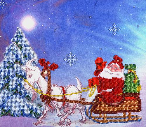 Канва с рисунком для вышивания бисером Hobby & Pro Новогодняя, 25 х 22 см580561Канва с рисунком для вышивания бисером Новогодняя изготовлена из полиэстра. Рисунок-вышивка, выполненный на такой канве, выглядит очень оригинально. Бисеринки нашиваются на ткань косыми стежками шва полукрест, где каждая бисеринка соответствует одной клетке на схеме. Вышивание отвлечет вас от повседневных забот и превратится в увлекательное занятие! Работа, сделанная своими руками, создаст особый уют и атмосферу в доме и долгие годы будет радовать вас и ваших близких, а подарок, выполненный собственноручно, станет самым ценным для друзей и знакомых. Рекомендуемое количество цветов: 12. Не рекомендуется стирать или мочить рисунок на канве перед вышиванием. УВАЖАЕМЫЕ КЛИЕНТЫ! Обращаем ваше внимание, на тот факт, что цвет символа на ткани может отличаться от реального цвета бисера они подобраны для удобства пользования схемой. Придерживайтесь нумерации в таблице.