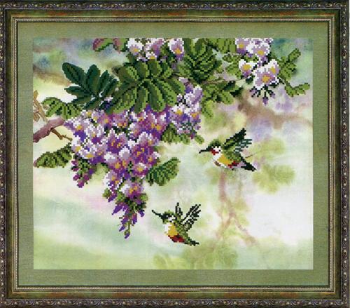 Канва с рисунком для вышивания бисером Hobby & Pro Цветущий сад, 30 х 25 см546849Канва с рисунком для вышивания бисером Цветущий сад изготовлена из полиэстера. Рисунок-вышивка, выполненный на такой канве, выглядит очень оригинально. Бисеринки нашиваются на ткань косыми стежками шва полукрест, где каждая бисеринка соответствует одной клетке на схеме. Вышивание отвлечет вас от повседневных забот и превратится в увлекательное занятие! Работа, сделанная своими руками, создаст особый уют и атмосферу в доме и долгие годы будет радовать вас и ваших близких, а подарок, выполненный собственноручно, станет самым ценным для друзей и знакомых. Рекомендуемое количество цветов: 12. Не рекомендуется стирать или мочить рисунок на канве перед вышиванием. УВАЖАЕМЫЕ КЛИЕНТЫ! Обращаем ваше внимание, на тот факт, что рамка в комплект не входит, а служит для визуального восприятия товара.