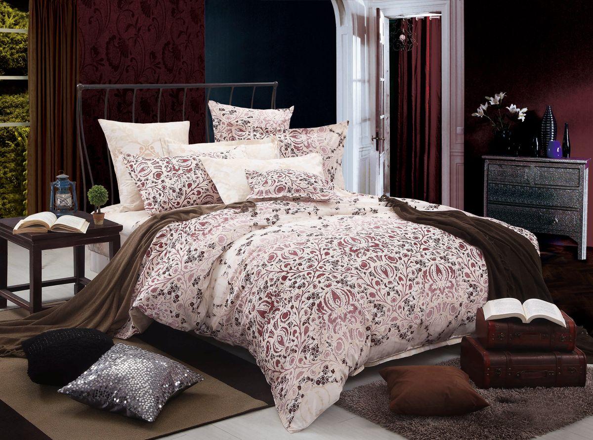 Комплект белья Amore Mio ZHG Ingrid, 1,5-спальное. 6278962789Amore Mio – Комфорт и Уют - Каждый день! Amore Mio предлагает оценить соотношению цены и качества коллекции. Разнообразие ярких и современных дизайнов прослужат не один год и всегда будут радовать Вас и Ваших близких сочностью красок и красивым рисунком. Что такое Satin/Сатин.-это ткань сатинового (атласного) переплетения нитей. Имеет гладкую, шелковистую лицевую поверхность, на которой преобладают уточные нити (уток – горизонтально расположенные в тканом полотне нити). Сатин изготавливается из крученой хлопковой нити двойного плетения. Он чрезвычайно приятен на ощупь, не электризуется и не скользит по кровати. Сатин прекрасно сохраняет форму и не мнется, отлично пропускает воздух, что позволяет телу дышать и дарит здоровый и комфортный сон. Пододеяльник-150*215, Простыня-150*225, наволочки-70*70(2шт)