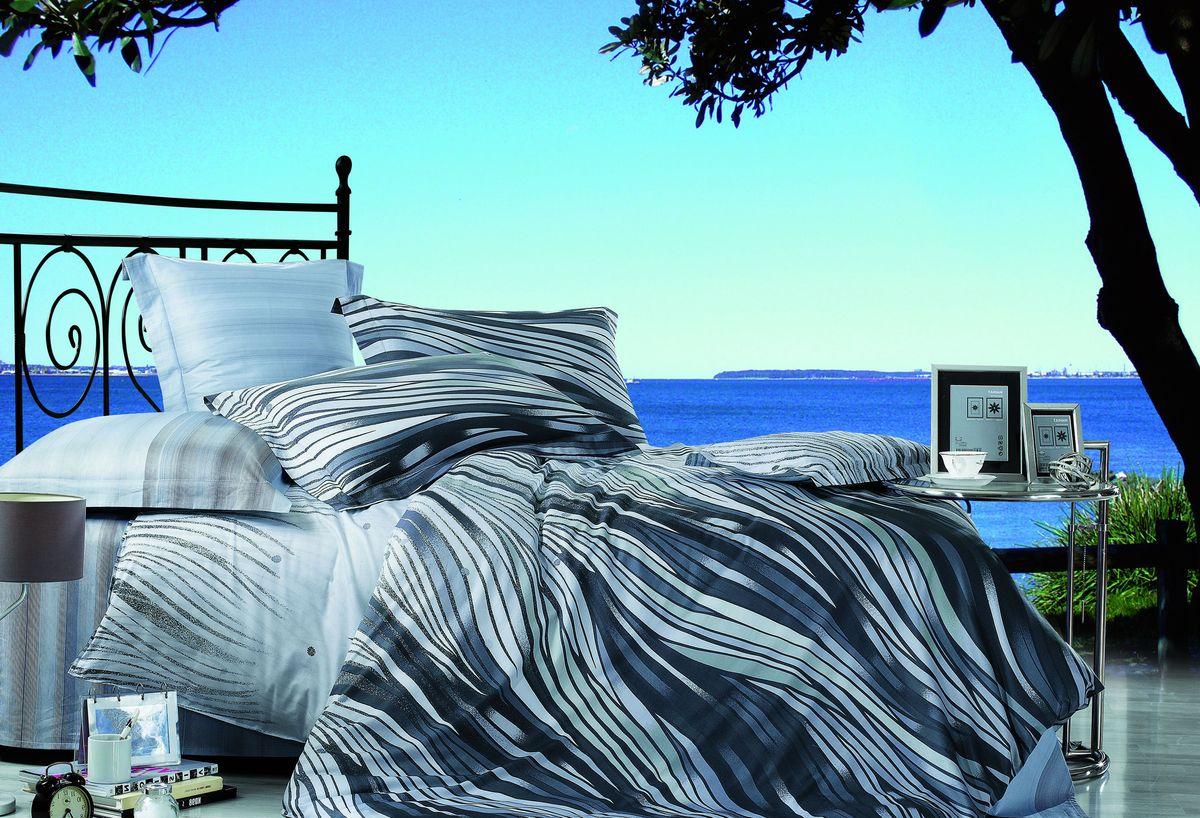 Комплект белья Buenas noches EH Volna, 2-спальное. 6334363343Buenos Noches – Элегантно, Стильно, Качественно! Buenos Noches -продукция с высоким качеством исполнения. У Buenos Noches Вы найдете постельное белье, пледы и покрывала. Вся продукция выполнена из тканей высшего качества с использованием стойких и безвредных красителей. Все серии товаров Buenos Noches имеют презентабельную, оригинальную и подарочную упаковку. Что послужит прекрасным подарком на любое торжество! Фотопечать 3D Buenos Noches - это красочные, объемные, реалистичные рисунки, нанесенные на ткань методом реактивной, многопиксельной 3D печати. Коллекция дизайнов Фотопечати 3D перенесет Вас и Ваших близких, в сказочный мир современных мегаполисов, сказочных цветов, в мир экзотической природы! 100% Хлопок - Сатин! Сатиновая ткань, используемая для пошива постельного белья из серии Buenas Noches 3D, обладает максимально полным набором потребительских характеристик. Таких как-отличная передача цвета печати при окрашивании, легкостью, плотностью, замечательной...