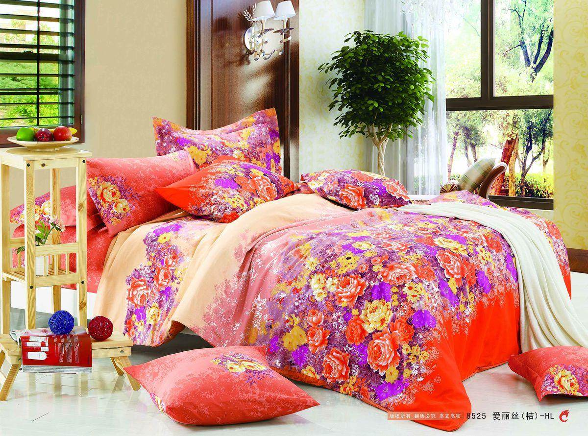 Комплект белья Amore Mio ZHG Radujniy, 1,5-спальное. 6525265252Amore Mio – Комфорт и Уют - Каждый день! Amore Mio предлагает оценить соотношению цены и качества коллекции. Разнообразие ярких и современных дизайнов прослужат не один год и всегда будут радовать Вас и Ваших близких сочностью красок и красивым рисунком. Что такое Satin/Сатин.-это ткань сатинового (атласного) переплетения нитей. Имеет гладкую, шелковистую лицевую поверхность, на которой преобладают уточные нити (уток – горизонтально расположенные в тканом полотне нити). Сатин изготавливается из крученой хлопковой нити двойного плетения. Он чрезвычайно приятен на ощупь, не электризуется и не скользит по кровати. Сатин прекрасно сохраняет форму и не мнется, отлично пропускает воздух, что позволяет телу дышать и дарит здоровый и комфортный сон.