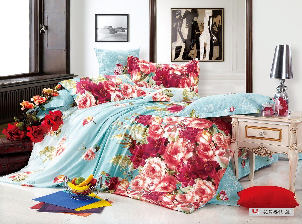 Комплект белья Amore Mio ZHG Mechta, 1,5-спальное BL. 6803868038Amore Mio – Комфорт и Уют - Каждый день! Amore Mio предлагает оценить соотношению цены и качества коллекции. Разнообразие ярких и современных дизайнов прослужат не один год и всегда будут радовать Вас и Ваших близких сочностью красок и красивым рисунком. Что такое Satin/Сатин.-это ткань сатинового (атласного) переплетения нитей. Имеет гладкую, шелковистую лицевую поверхность, на которой преобладают уточные нити (уток – горизонтально расположенные в тканом полотне нити). Сатин изготавливается из крученой хлопковой нити двойного плетения. Он чрезвычайно приятен на ощупь, не электризуется и не скользит по кровати. Сатин прекрасно сохраняет форму и не мнется, отлично пропускает воздух, что позволяет телу дышать и дарит здоровый и комфортный сон.