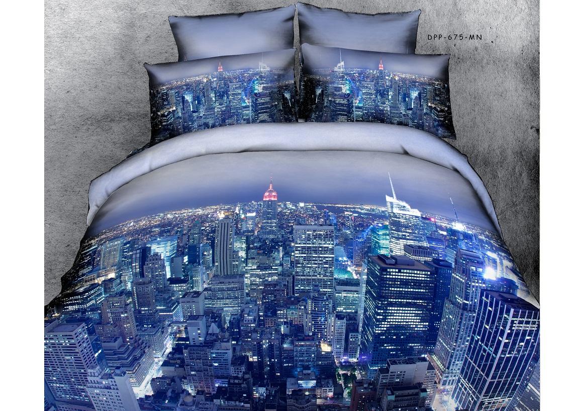 Комплект белья Buenas noches RS City, 2-спальное. 6873068730Buenos Noches – Элегантно, Стильно, Качественно! Buenos Noches -продукция с высоким качеством исполнения. У Buenos Noches Вы найдете постельное белье, пледы и покрывала. Вся продукция выполнена из тканей высшего качества с использованием стойких и безвредных красителей. Все серии товаров Buenos Noches имеют презентабельную, оригинальную и подарочную упаковку. Что послужит прекрасным подарком на любое торжество! Фотопечать 3D Buenos Noches - это красочные, объемные, реалистичные рисунки, нанесенные на ткань методом реактивной, многопиксельной 3D печати. Коллекция дизайнов Фотопечати 3D перенесет Вас и Ваших близких, в сказочный мир современных мегаполисов, сказочных цветов, в мир экзотической природы! 100% Хлопок - Сатин! Сатиновая ткань, используемая для пошива постельного белья из серии Buenas Noches 3D, обладает максимально полным набором потребительских характеристик. Таких как-отличная передача цвета печати при окрашивании, легкостью, плотностью, замечательной...