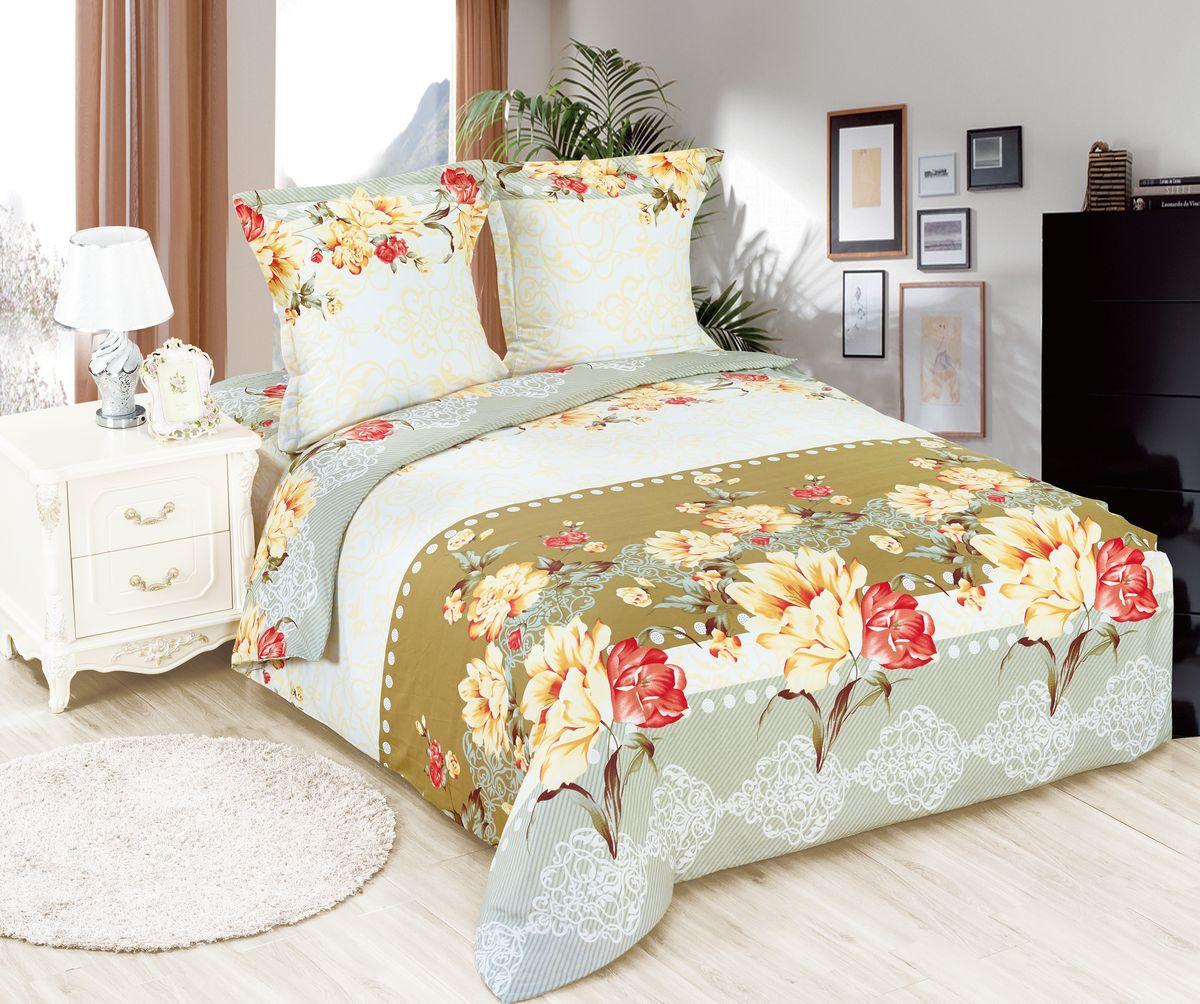 Комплект белья Amore Mio ET Dekor, 1,5-спальное. 7007770077Amore Mio – Комфорт и Уют - Каждый день! Amore Mio предлагает оценить соотношению цены и качества коллекции. Разнообразие ярких и современных дизайнов прослужат не один год и всегда будут радовать Вас и Ваших близких сочностью красок и красивым рисунком. Белье Amore Mio – лучший подарок любимым! Поплин – европейский аналог бязи. Это ткань самого простого полотняного плетения с чуть заметным рубчиком, который появляется из-за использования нитей разной толщины. Состоит из 100% натурального хлопка, поэтому хорошо удерживает тепло, впитывает влагу и позволяет телу дышать. На ощупь поплин мягче бязи, но грубее сатина. Благодаря использованию современных методов окраски, не линяет и его можно стирать при температуре до 40°C.
