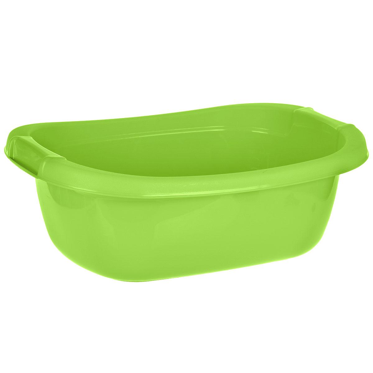 Таз Dunya Plastik, цвет: зеленый, 25 л5602зеленыйОвальный таз Dunya Plastik выполнен из прочного пластика. Он предназначен для стирки и хранения разных вещей. По бокам имеются углубления, которые обеспечивают удобный хват. Таз пригодится в любом хозяйстве.