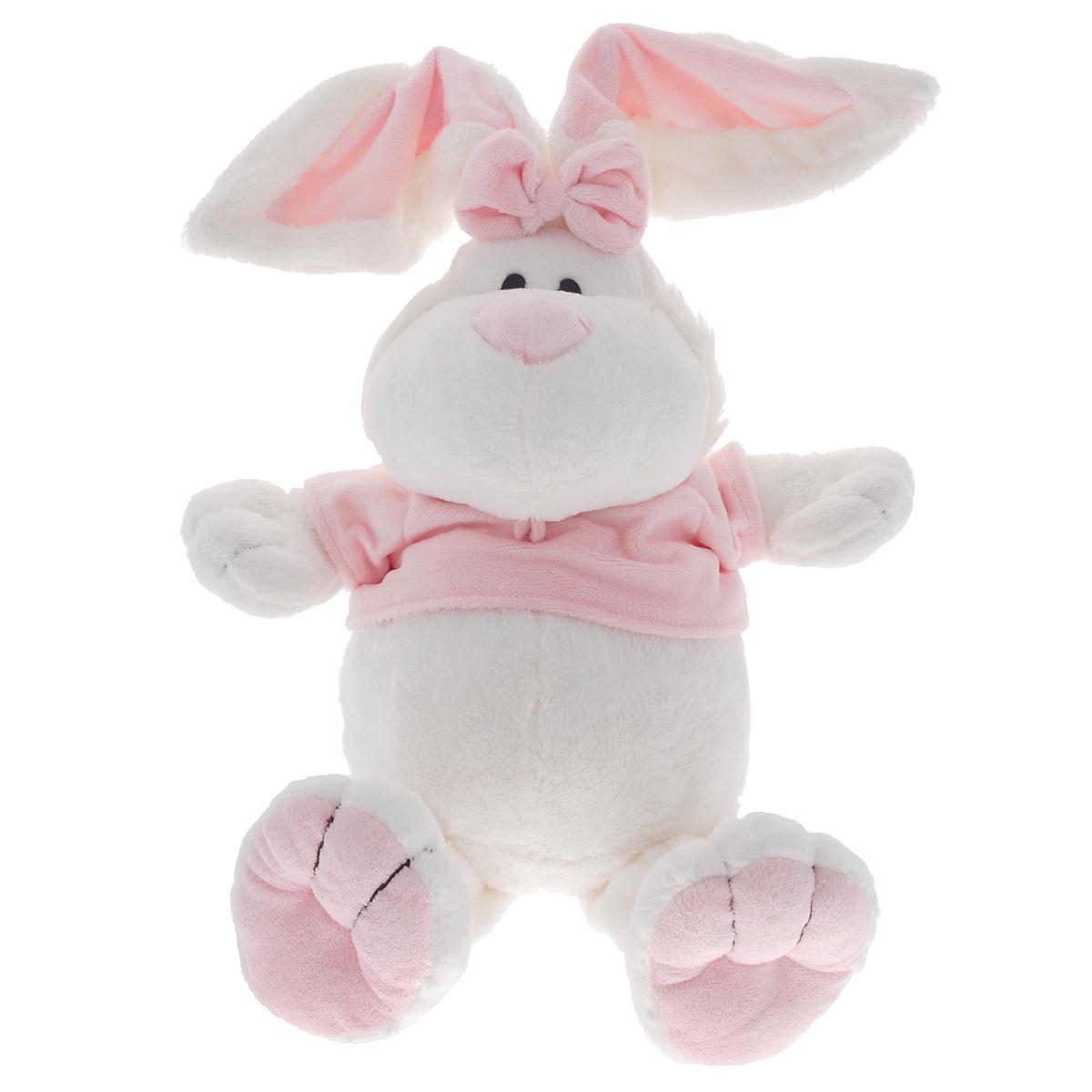 Мягкая игрушка Gulliver Кролик сидячий, 40 cм7-42229Мягкая игрушка Кролик сидячий - мягкий белоснежный питомец, который способен оживить скучные будни малыша. Кролик от Gulliver очень мягкий и практически невесомый, что позволит с ним никогда не расставаться, и он сможет стать ребенку хорошим другом. Мягкая игрушка выполнена очень реалистично и похожа на настоящее домашнее животное. У кролика довольно забавное радостное личико и добрые глаза, благодаря чему он войдет в доверие малыша, который будет с ним делиться своими самыми сокровенными тайнами. Даже при том, что игрушка белого цвета, можно не бояться ее запачкать, ведь она без усилий отстирается ручной стиркой или в машине-автомат в деликатном режиме. В процессе игры малыши фантазируют, образно мыслят, выдумывая разнообразные игровые роли, напрягают память, вспоминая особенности жизнедеятельности животного, у детей развивается моторика рук и тактильное восприятие, поднимается настроение и развеиваются страхи. Мягкие игрушки Gulliver действуют позитивно...