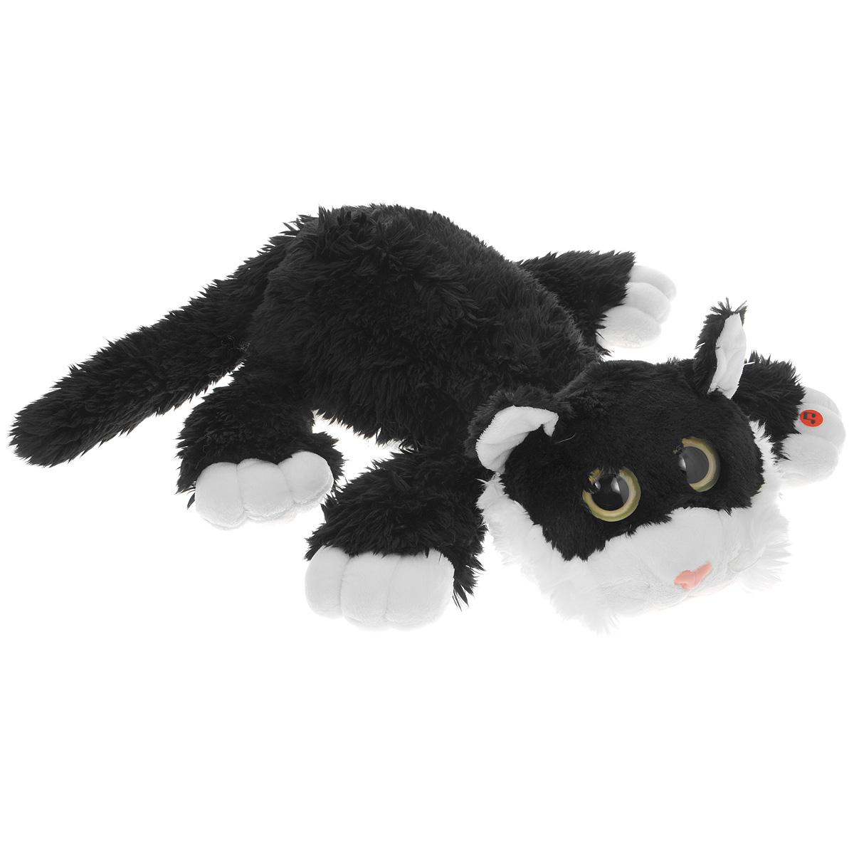 Мягкая игрушка Gulliver Котик Шалунишка, 22 см, в ассортименте18-3001-4Мягкая игрушка Котик Шалунишка изготовлена из приятного на ощупь искусственного меха и набита комбинированным наполнителем - синтепоном и гранулами полистирола. Мягкие игрушки Gulliver действуют позитивно на растущий детский организм, обучая ласке и доброте, улучшают настроение ребенка, развивают тактильную чувствительность, стимулируют зрительное восприятие, хватательные рефлексы и моторику рук. Продукция сертифицирована, экологически безопасна для ребенка, использованные красители не токсичны и гипоаллергенны. УВАЖАЕМЫЕ КЛИЕНТЫ! Товар поставляется в ассортименте. Поставка осуществляется в одном из приведенных вариантов в зависимости от наличия на складе.