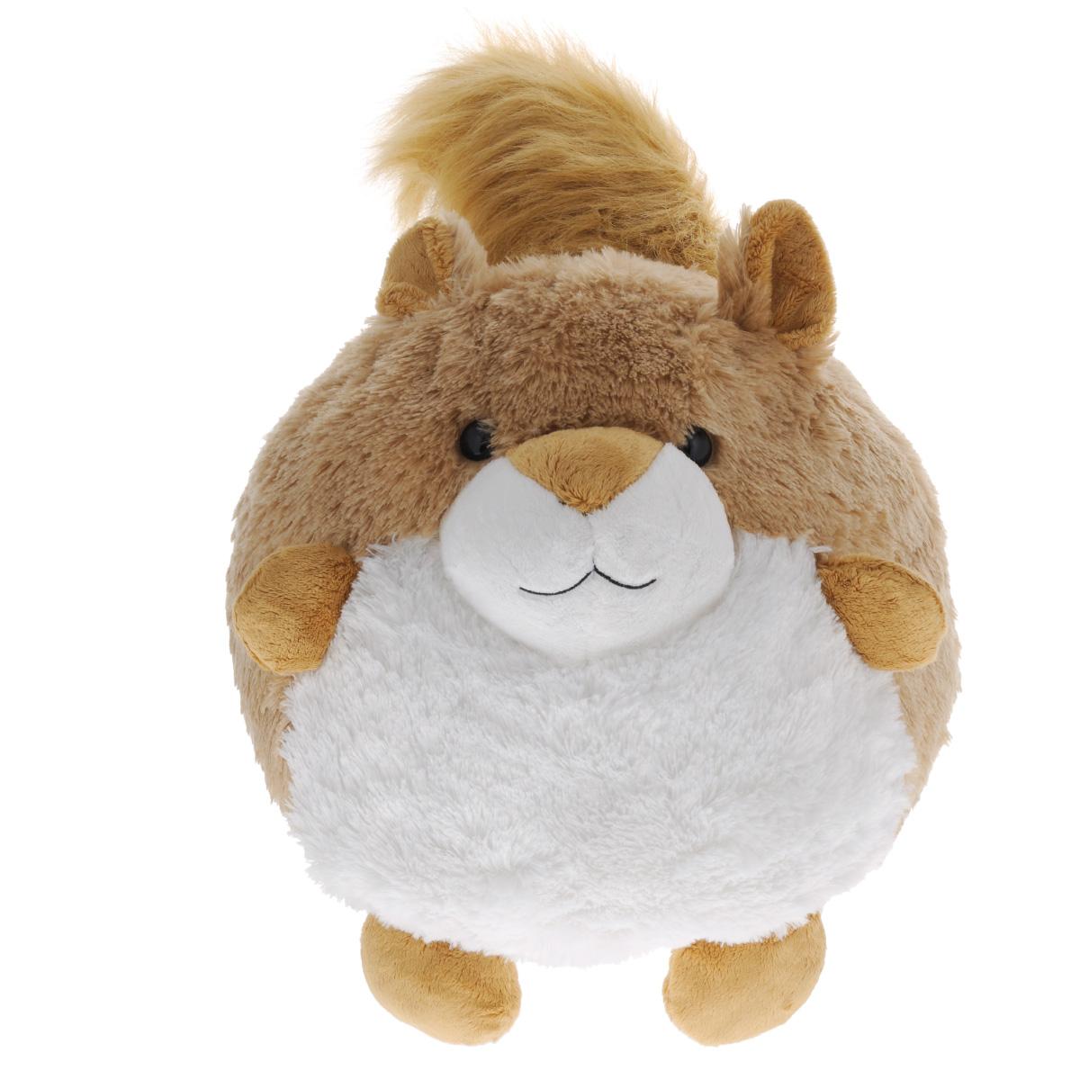 Gulliver Мягкая игрушка Пушистый хвостик Белочка, 30 см