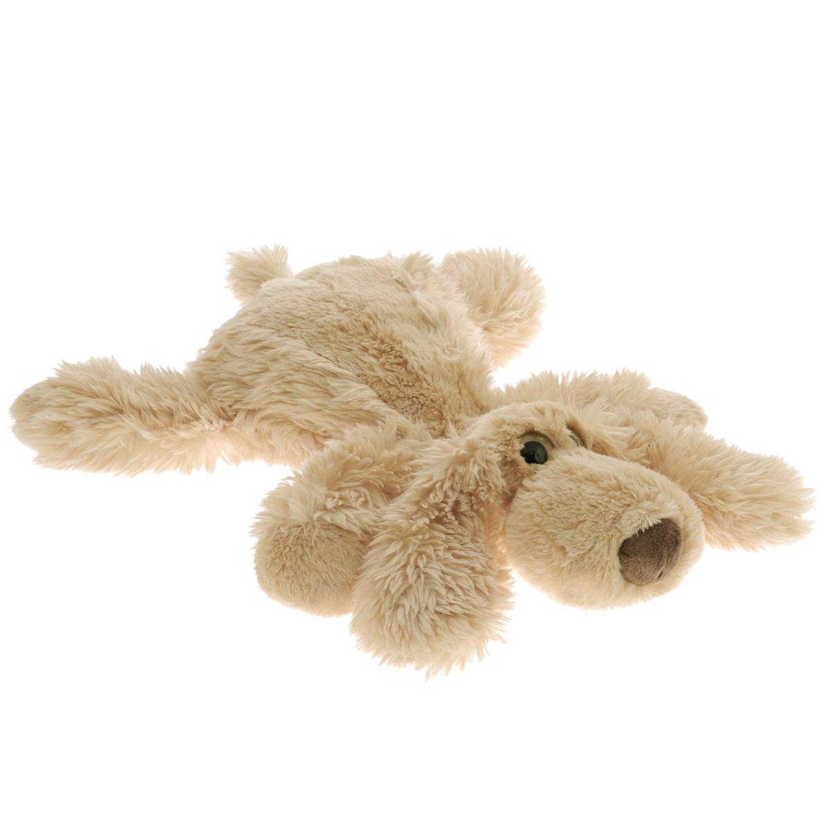 """Gulliver Мягкая игрушка """"Собачка Длинный Ух"""", цвет: бежевый, 34 см - 1"""