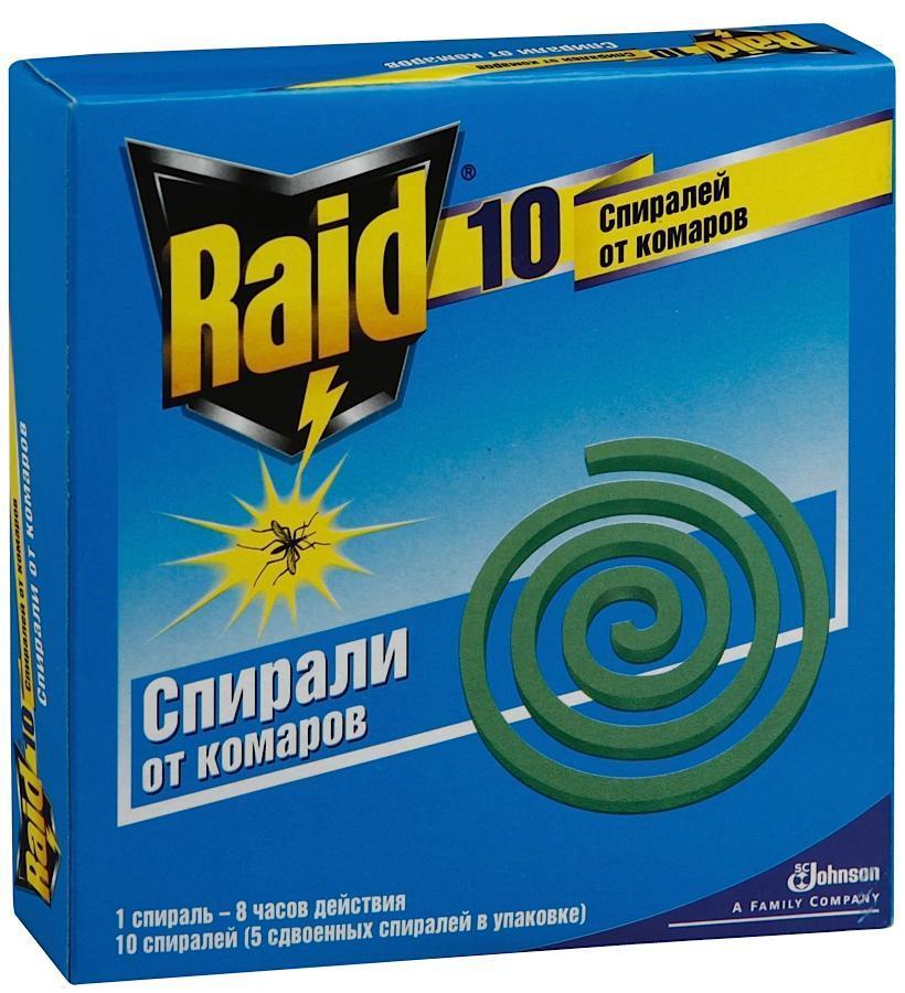 Спирали против комаров Raid, 10 шт613642