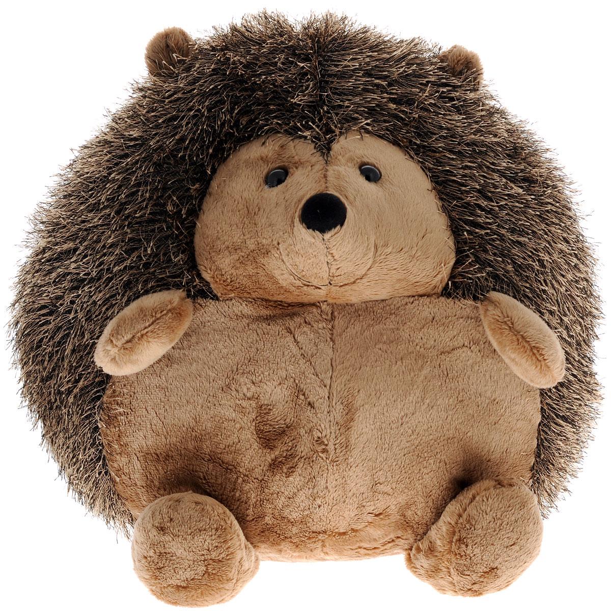 Мягкая игрушка Gulliver Ежик сидячий, 33 см14-047344Мягкая игрушка Ежик сидячий не даст малышу заскучать. Вместе с ежиком ребенок сможет провести время не только забавно, но и познавательно. Этот веселый ежик станет отличным украшением детской комнаты, наполняя ее светом и хорошим настроением. У ежика маленькие черные глазки, симпатичный плюшевый носик и милая улыбка, которая так и манит поиграть. Его колючки приятно поглаживать, а благодаря задним лапкам он может устойчиво сидеть. Игры с мягким ежиком познавательны, так как ребенку становится интересно узнать больше об этом милом обитателе леса. Мягкие игрушки Gulliver откроют ребенку дверь для познания мира взрослых. Благодаря играм с ними ребенок учиться быть заботливым, ухаживать и дружить, а также развивает тактильные ощущения. Сюжетно-ролевые игры тренируют фантазию и воображение малыша, развивает его творческие способности. Как материал, так и набивка, с использованием которых изготовлены мягкие игрушки, высокого качества и безопасны для детей. Продукция...