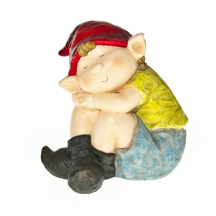 """Фигурка садовая Village People """"Спящий мальчик"""", высота 35 см"""