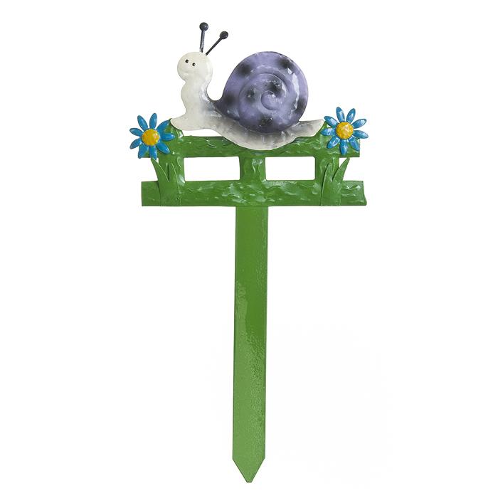 """Опора для растений декоративная Village People """"Спешащая улитка"""", высота 39 см"""