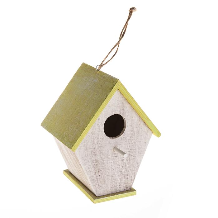 Скворечник садовый Village People Классика, цвет в ассортименте, 14,5 х 13,5 х 18 см68629Декоративный скворечник Village People Классика представляет собой деревянный, уютный домик для птиц. Скворечник оснащен петелькой, за которую его можно повесить в любое удобное место. Помимо своего основного назначения, скворечник также прекрасно украсит ландшафт, придаст ему оригинальность и самобытность. Размер скворечника: 14,5 х 13,5 х 18 см.
