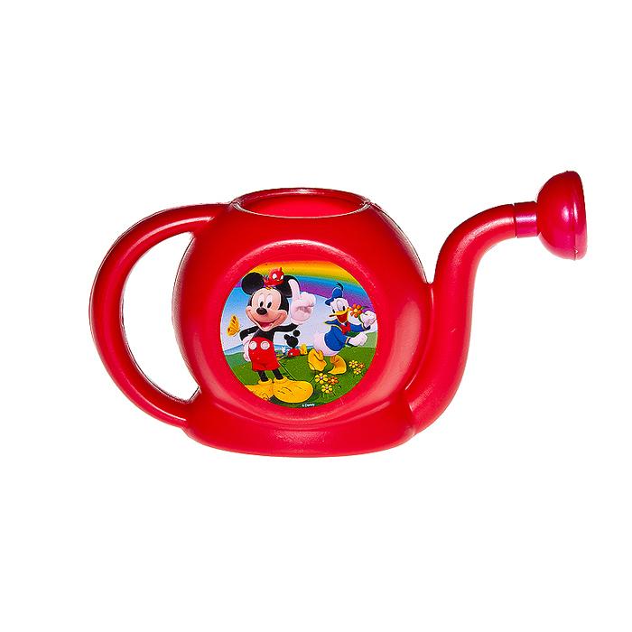 Лейка Village People Disney Любимые герои, цвет: красный, 1 л64762_1Изящная пластиковая лейка Village People Disney Любимые герои порадует маленьких садоводов. У лейки длинный носик и удобная ручка. Лейка изготовлена из полиэтилена и пригодится для работ на дачном участке и для полива комнатных растений. Яркий дизайн и любимый диснеевский герой непременно понравятся вашему юному помощнику.