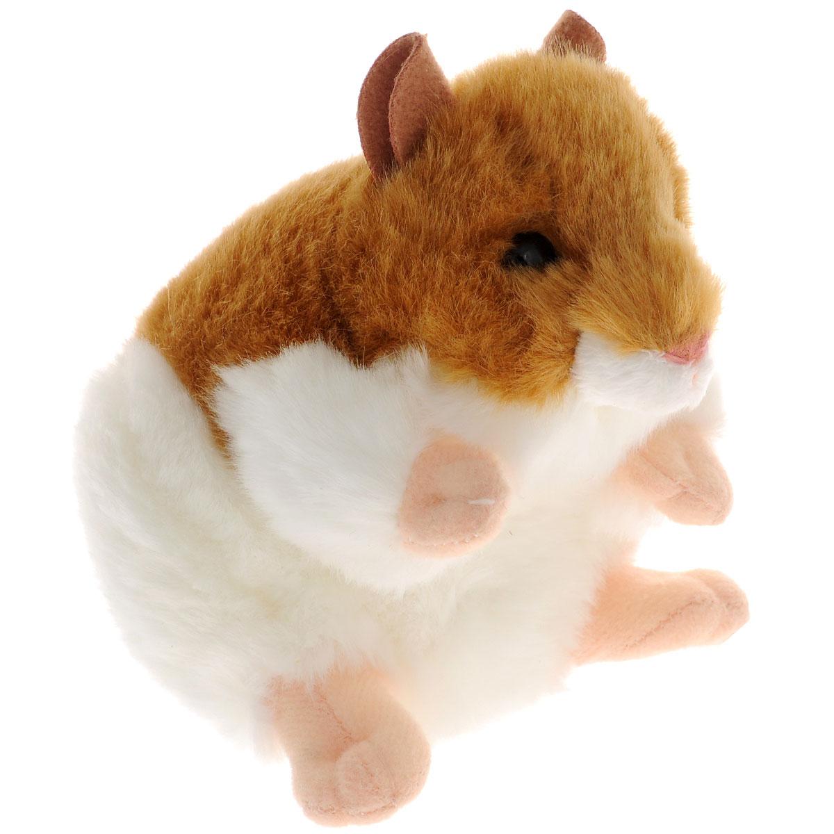 Gulliver Мягкая игрушка Хомяк, 13 см50-89653Интересная игрушка Gulliver Хомяк, выполнена в виде забавного хомяка. Игрушка изготовлена из нетоксичных экологически чистых материалов. Глазки и носик выполнены из пластика. Зверек обладает мягкой светлой шерсткой, выполненной из искусственного меха. Для набивки используется полиэфирное волокно. Удивительно мягкая игрушка принесет радость и подарит своему обладателю мгновения нежных объятий и приятных воспоминаний. Великолепное качество исполнения делают эту игрушку чудесным подарком к любому празднику. Трогательная и симпатичная, она непременно вызовет улыбку у детей и взрослых.