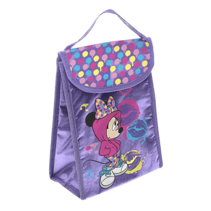 Термосумка для ланча Home Queen Disney Любимые герои, цвет: фиолетовый, 18 х 24 х 12 см67287_3Модная термосумка для ланча Home Queen Любимые герои обязательно понравится вашему ребенку. Благодаря свойствам материала, из которого изготовлена сумка, она сохраняет температуру помещенного внутрь продукта. Принты с любимыми героями мультфильма Disney Микки Маус делают сумку оригинальным и ярким аксессуаром. Материал: нетканый материал, алюминиевая фольга. Размер сумки: 18 см х 24 см х 12 см.