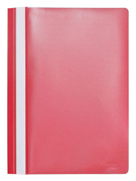 """Папка-скоросшиватель """"Index"""", цвет: красный. Формат А4, 20 шт I200/RD"""