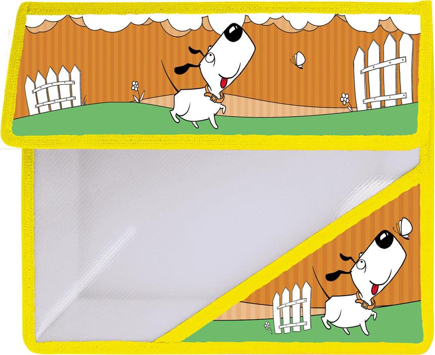 Action! Папка для тетрадей Милашки цвет оранжевыйAFA5-11Папка для тетрадей Action! Милашки - это удобный и функциональный инструмент, который идеально подойдет для хранения различных бумаг формата А5, а также школьных тетрадей и письменных принадлежностей. Лицевая сторона папки оформлена изображением милой собачки. Папка изготовлена из прочного пластика и надежно закрывается на клапан с липучками. Папка состоит из одного отделения. Папка практична в использовании и надежно сохранит ваши бумаги и сбережет их от повреждений, пыли и влаги.