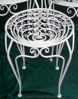 Столик ПАВЛИН металлический M, 50.5 x 50.5 x 58 см, Blossom Line
