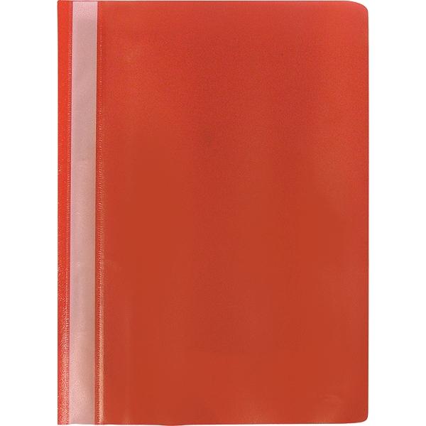 Proff Папка-скоросшиватель Alpha цвет красный400PF50-01Папка-скоросшиватель Proff Alpha, изготовленная из высококачественного полипропилена - это удобный и практичный офисный инструмент, предназначенный для хранения и транспортировки рабочих бумаг и документов формата А4. Папка оснащена верхним прозрачным матовым листом и металлическим зажимом внутри для надежного удержания бумаг. Папка-скоросшиватель - это незаменимый атрибут для студента, школьника, офисного работника. Такая папка надежно сохранит ваши документы и сбережет их от повреждений, пыли и влаги.