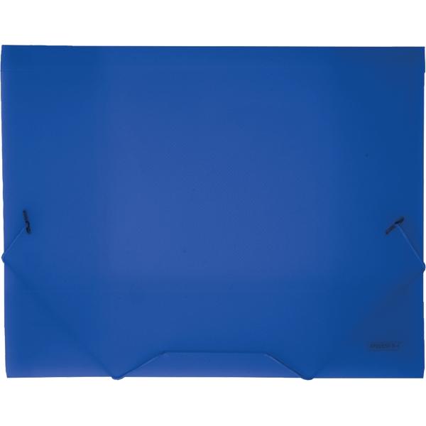 Proff Папка на резинке Next цвет синий SB20TW-04SB20TW-04Папка на резинке Proff Next - это удобный и функциональный офисный инструмент, предназначенный для хранения и транспортировки рабочих бумаг и документов формата А4. Папка изготовлена из износостойкого высококачественного полипропилена. Внутри папка имеет три клапана, что обеспечивает надежную фиксацию бумаг и документов. Папка - это незаменимый атрибут для студента, школьника, офисного работника. Такая папка надежно сохранит ваши документы и сбережет их от повреждений, пыли и влаги.